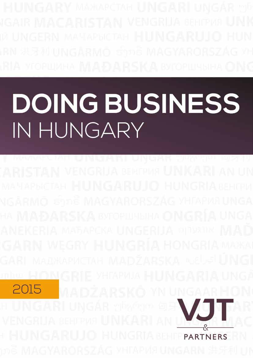Doing Business in Hungary 2015