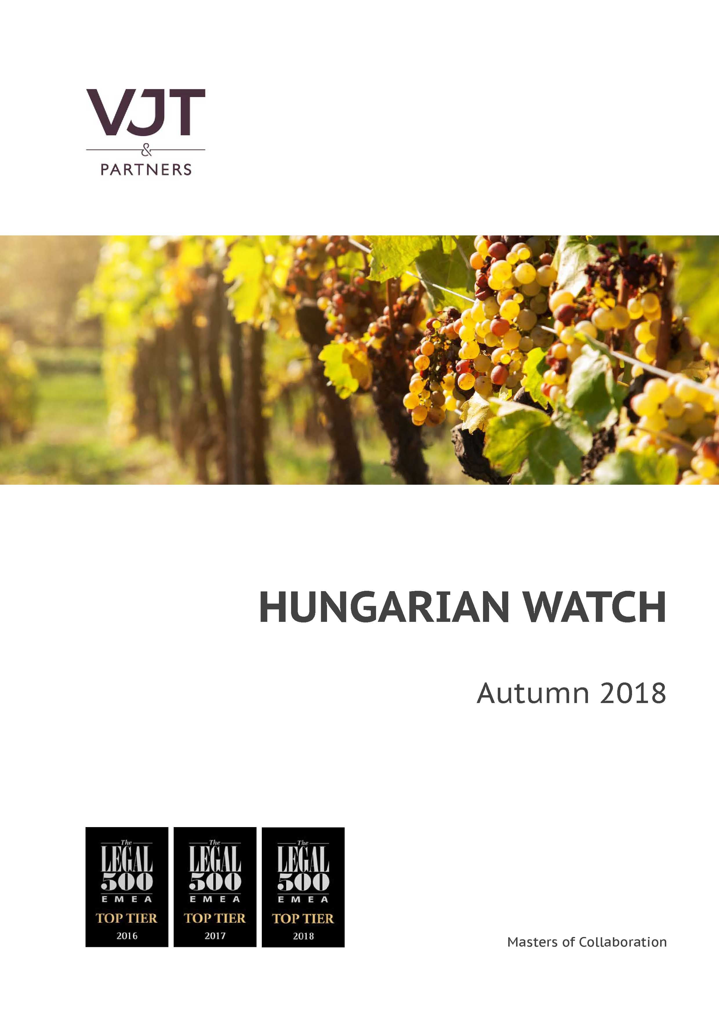 Hungarian Watch Autumn 2018