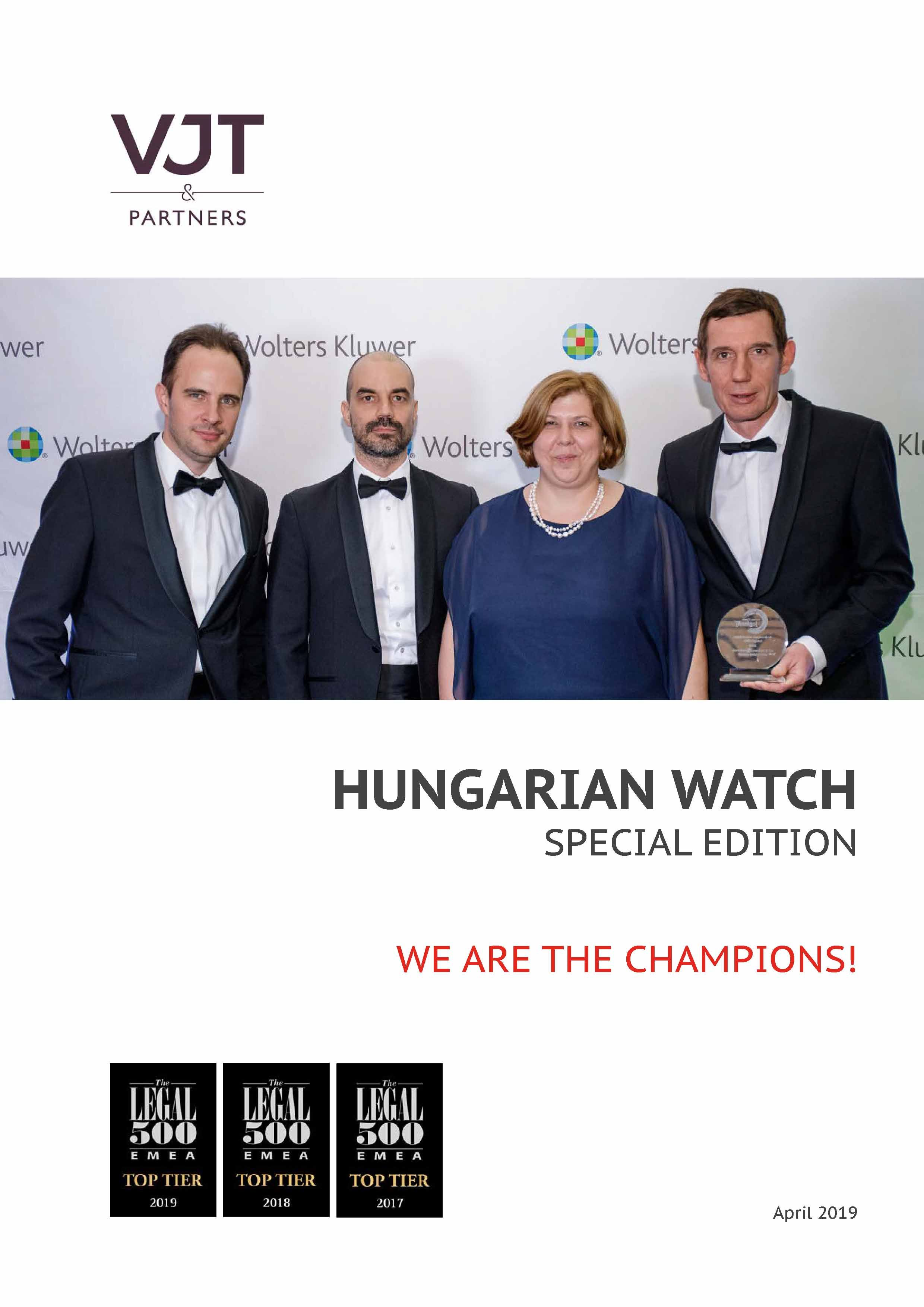 Hungarian Watch Special Edition 2019