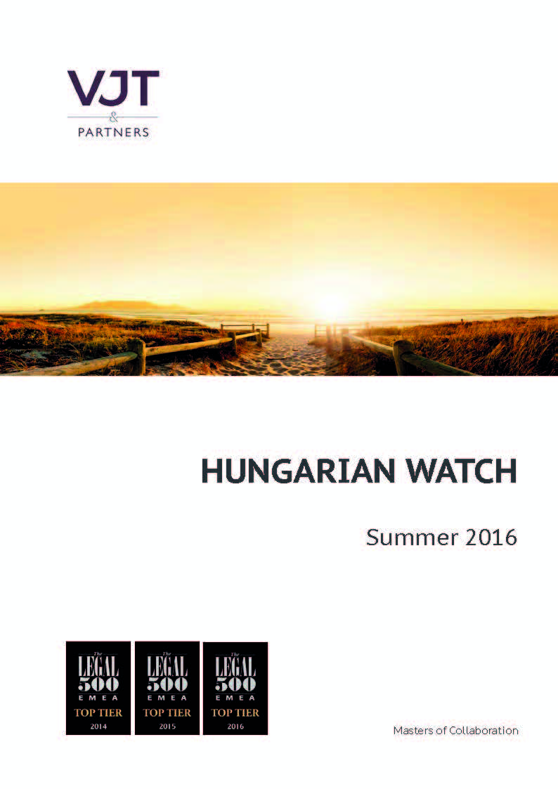 Hungarian Watch Summer 2016